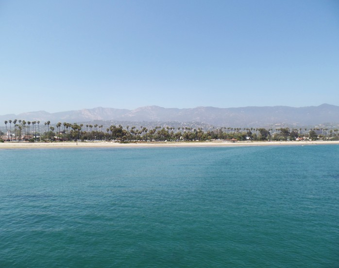 Santa Barbara Beach water