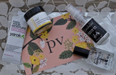 Petit Vour March 2016 Box Review