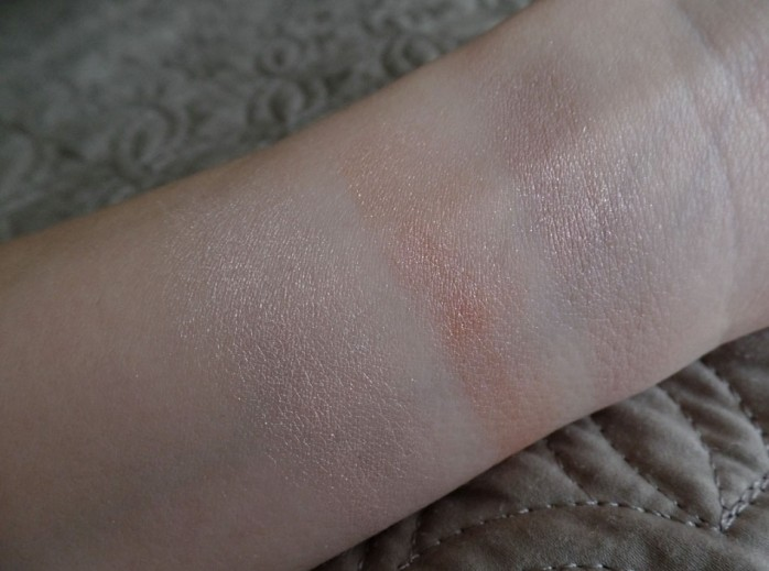 Cream Eye Shadow Swatches, Gressa, 100% Pure
